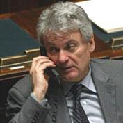 Il neo-ministro Aldo Brancher