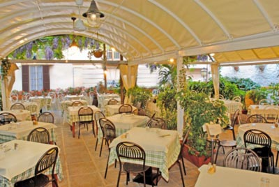 Ristorante The garden a Sorrento