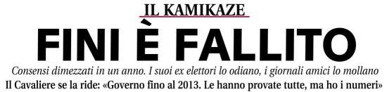 Titolo sul quotidiano Libero