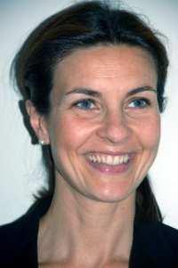 Un'altra foto di Alessandra Moretti, portavoce di Bersani alle primarie del Pd