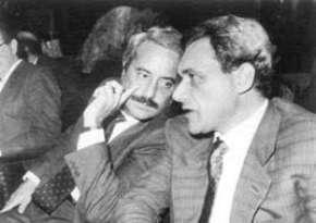 Giovanni Falcone e Pietro Grasso
