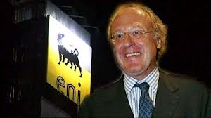 Paolo Scaroni, amministratore delegato di Eni spa