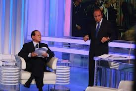 Silvio Berlusconi a Porta a porta