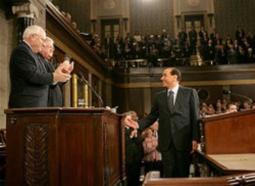 Silvio Berlusconi al Congresso degli Stati Uniti